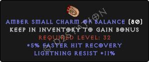 Lightning Resist 11% w | 5% FHR SC - Perfect