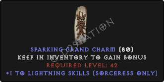 Sorceress Lightning Skills [Plain]