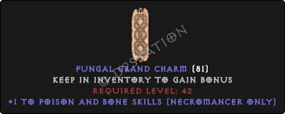 Necromancer Poison And Bone Skills [Plain]