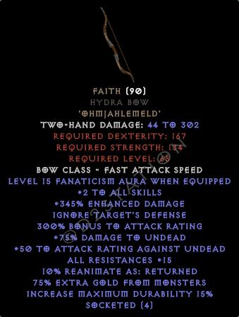Faith Hydra Bow - Perfect